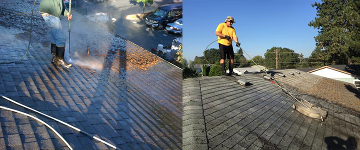 Oregon Roof Cleaning Services